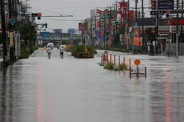 Inondations au Japon: les opérations de secours continuent, nouvelles pluies intenses annoncées