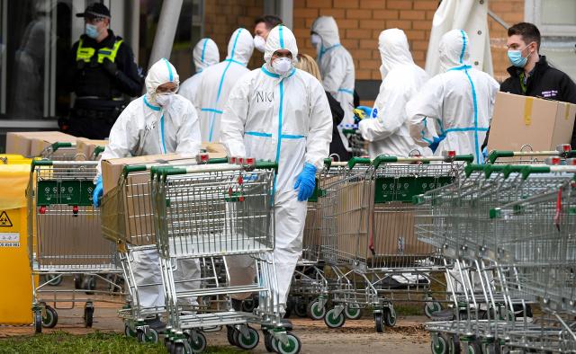 Millions under new Australia lockdown as global virus cases soar