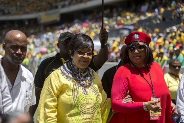 Mandela's daughter Zindzi dies at 59