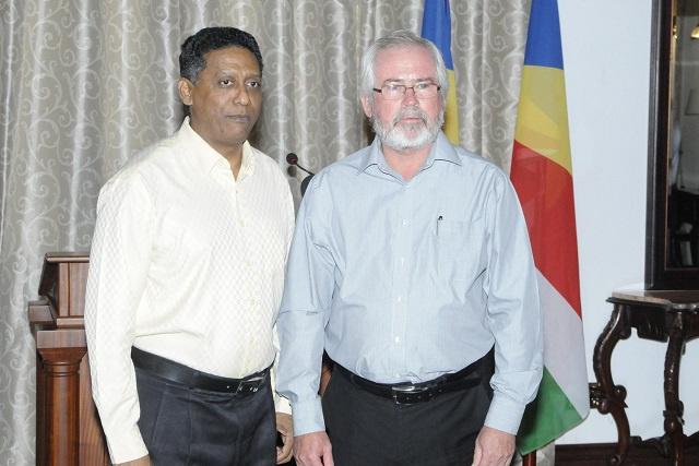 Seychelles' President picks Finance Minister Loustau-Lalanne as running mate