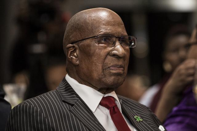S. African anti-apartheid icon Mlangeni laid to rest