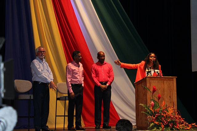 United Seychelles valide Maurice Loustau Lalanne, comme colistier du président Danny Faure
