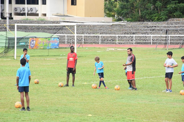 Sports association in Seychelles using pro soccer app to track athletic progress