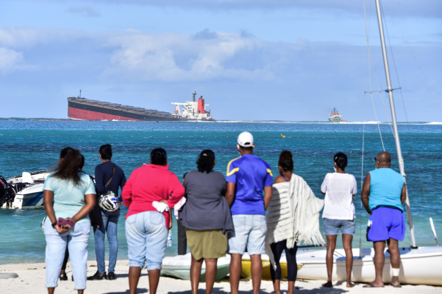 Mauritian government declares state of environmental emergency after oil spill