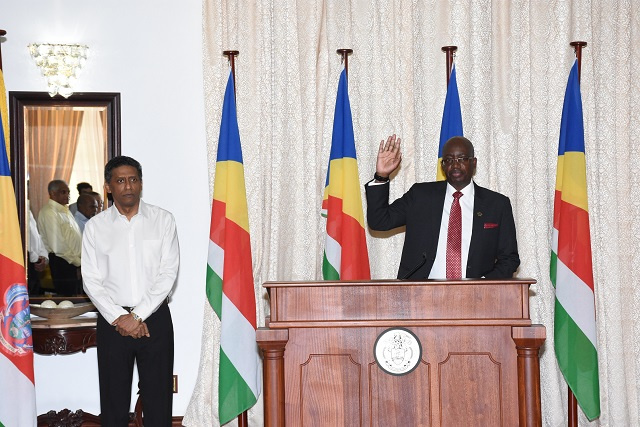 New justice from Botswana sworn in to Seychelles' Court of Appeal