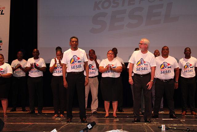 Le parti United Seychelles approuve ses 26 candidats pour les élections législatives.