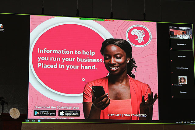 New app launched in Seychelles called 50 Million African Women Speak , or 50MAWS