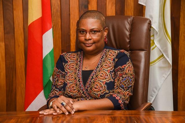 Seychelles' Central Bank Governor – Caroline Abel – wins African Bankers Award 2020