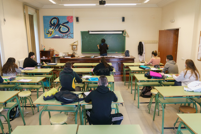 European schools reopen with smaller classes, shorter lessons