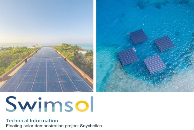 Floating solar demonstration project to be installed off Seychelles' coast