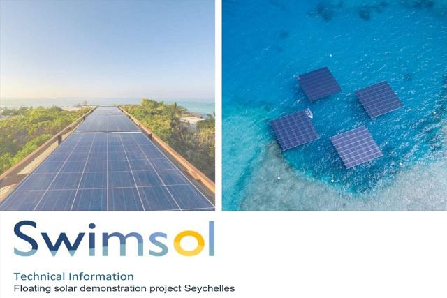 Un projet de panneaux solaires flottant sera installé aux Seychelles