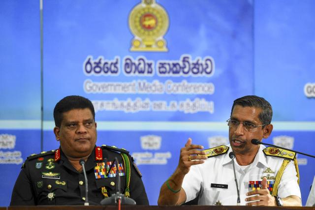 Stricken oil tanker pushed away from Sri Lankan coast