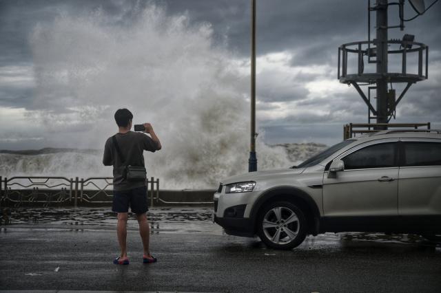 Typhoon hits South Korea after triggering landslides in Japan
