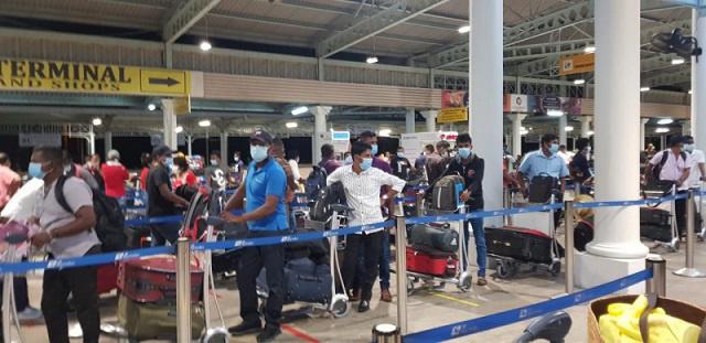 200 Sri Lankais bloqués aux Seychelles en raison du COVID-19 vont rentrer chez eux lundi