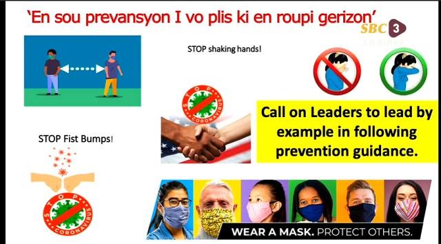 La santé publique aux Seychelles impose le port des masques dans les transports publics et dans la foule