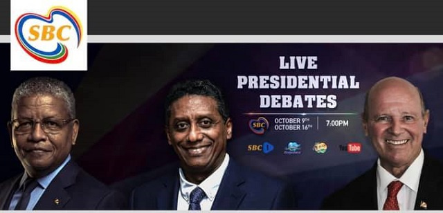 Seychelles' 3 presidential candidates to meet in televised debate Friday