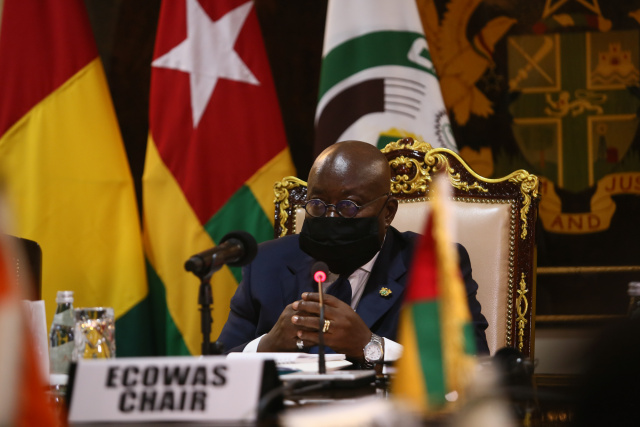 Ghana president visits post-coup Mali after sanctions lifted