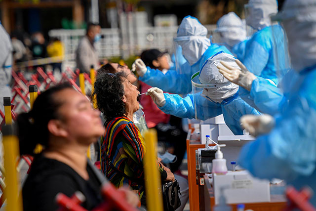 Covid en Chine: 3 millions de dépistés en deux jours à Qingdao