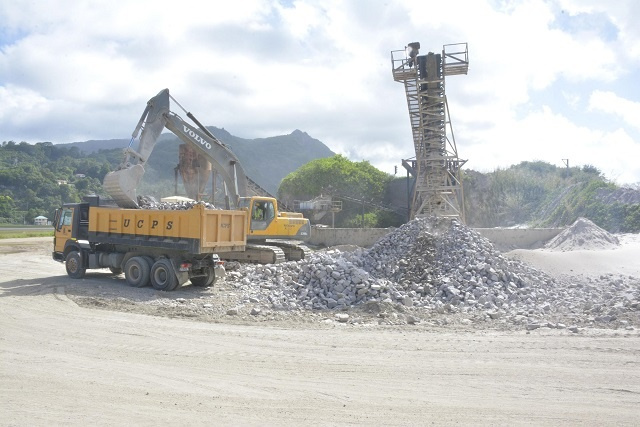 Issue of new proposed rock quarry for construction in Seychelles open for public comments