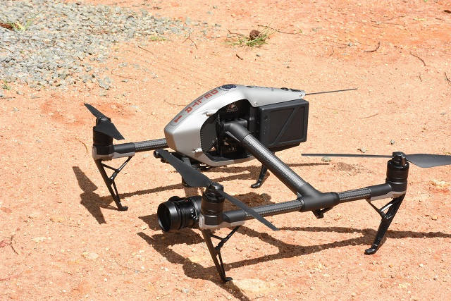 New surveillance drone to increase security measures around Seychelles' main prison