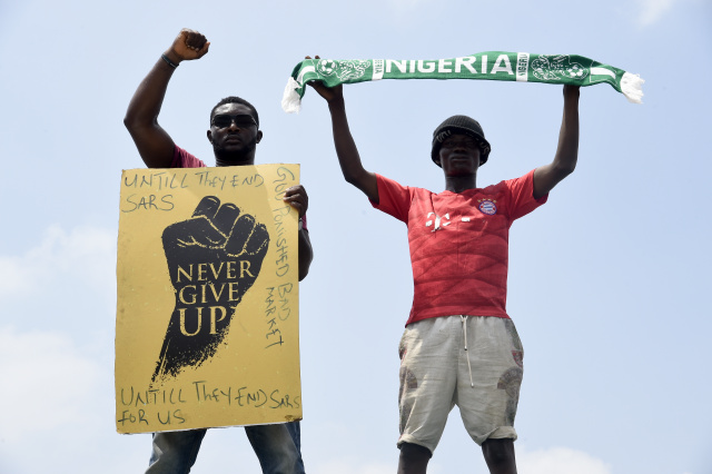 Curfew in Nigeria's Lagos over 'monster' protests