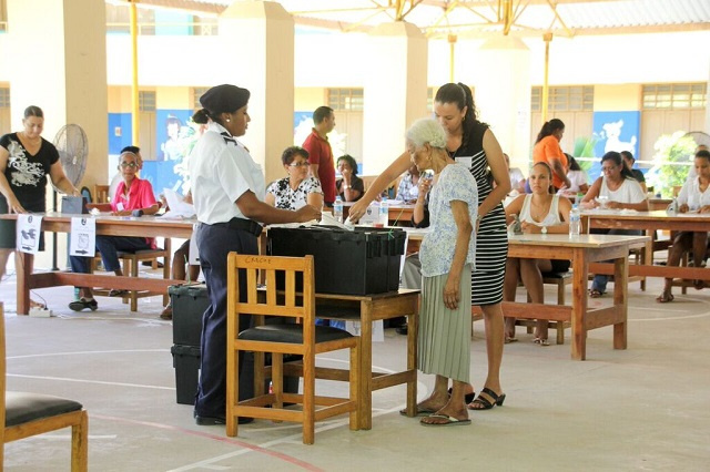 First votes cast in Seychelles' 3-day presidential, National Assembly election