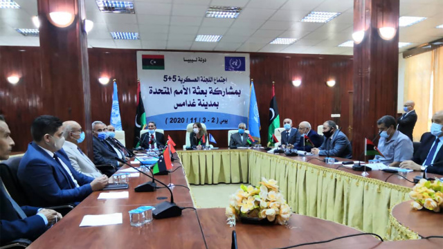 Libyan parliamentarians meet for peace talks in Morocco