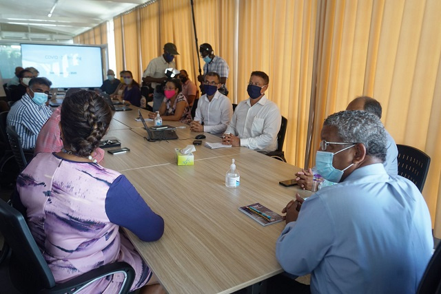 Le groupe de travail COVID-19 réexamine la stratégie de protection des Seychelles face à l'augmentation des cas mondiaux