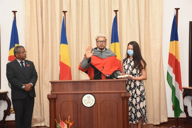 Seychelles' new Chief Justice sworn in, pledges, vows to keep justice at forefront