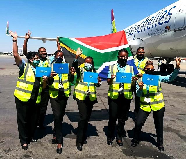 Voyant l'ouverture du marché, Air Seychelles reprend lentement ses vols