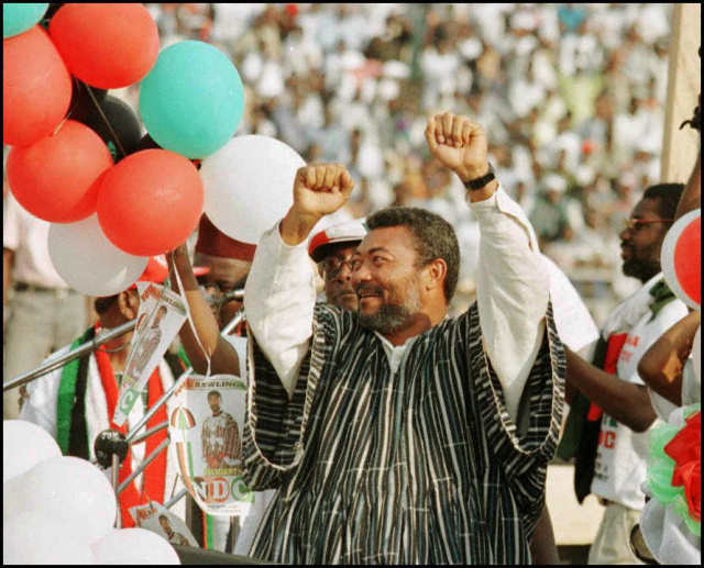 Jerry Rawlings: Ghana's towering former leader