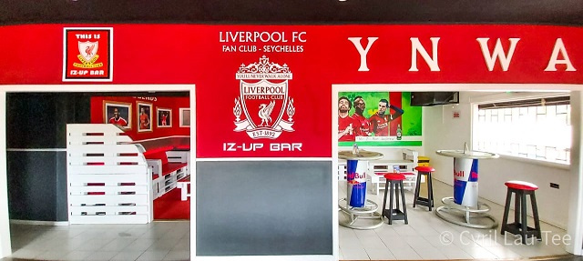 Liverpool Football Club fans in Seychelles have new bar to watch games at