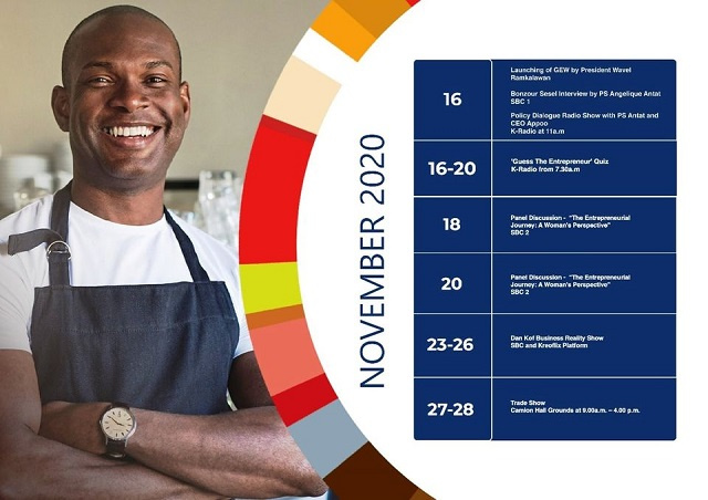 Seychelles hosts Global Entrepeneurship Week, hopes to spur young business people