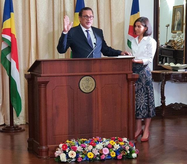 Le nouveau ministre du Tourisme déclare que les Seychelles doivent augmenter le niveau des services et les produits pour attirer les visiteurs
