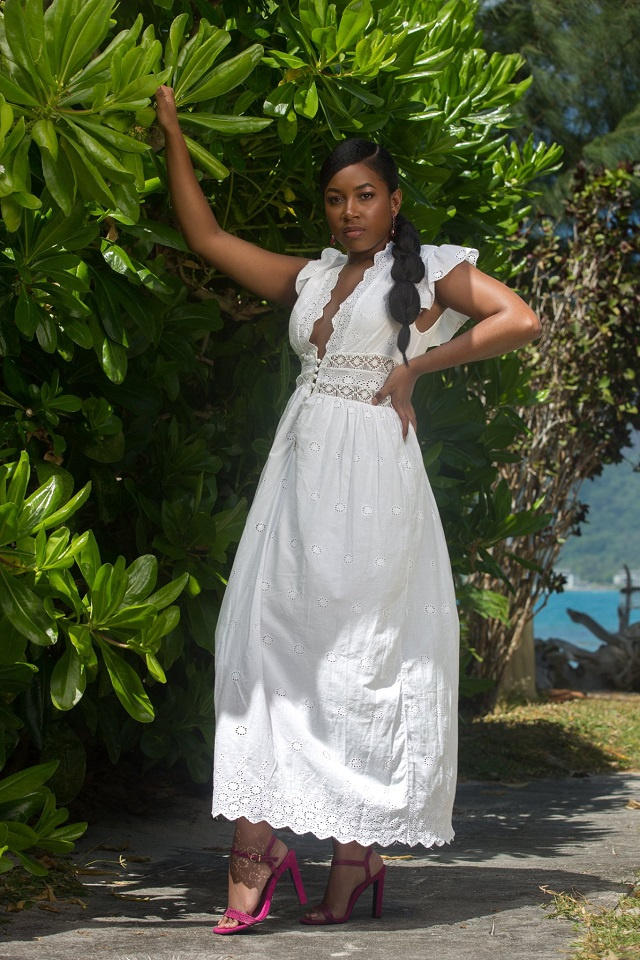 A swimmer who took school seriously vies for Miss Seychelles title