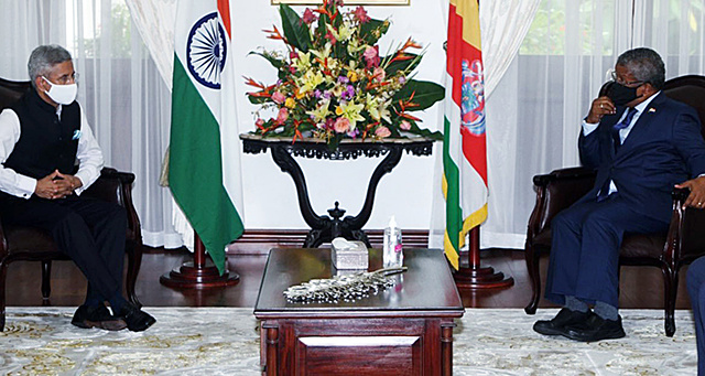 India invites new President of Seychelles for official visit next year