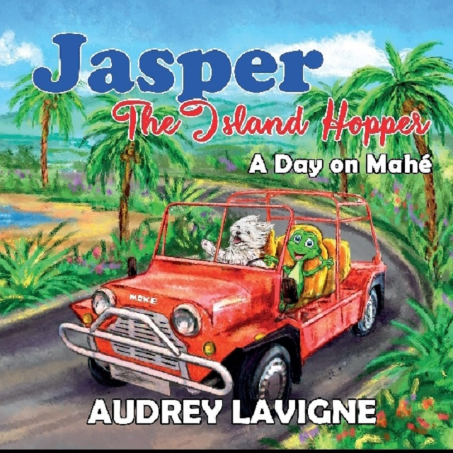 Jasper the island-hopping dog could be a Seychellois stocking stuffer