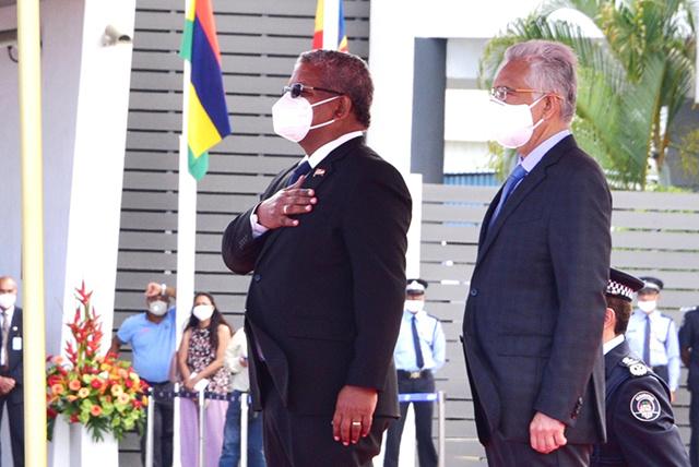Le président des Seychelles Wavel Ramkalawan est à Maurice pour renforcer les relations entre les deux îles