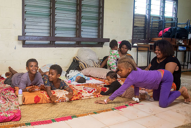 Des villages des Fidji rasés au passage du super cyclone Yasa