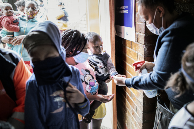 South Africa logs million virus cases as pandemic surges worldwide