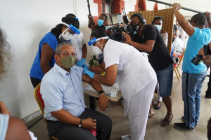 Seychelles becomes first country in Africa to start COVID-19 vaccinations