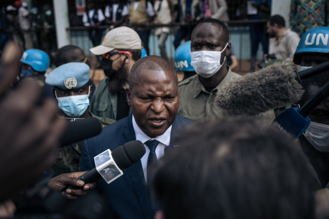 C. Africa's Touadera wins re-election as opposition cries foul