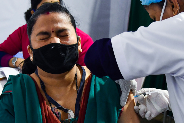 India starts huge vaccine drive as European rollout stutters