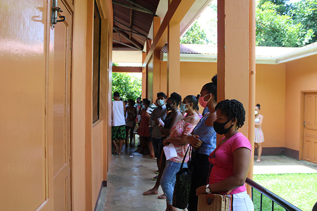 Vaccinations in Seychelles targeting tourism sector then rolling out to general public
