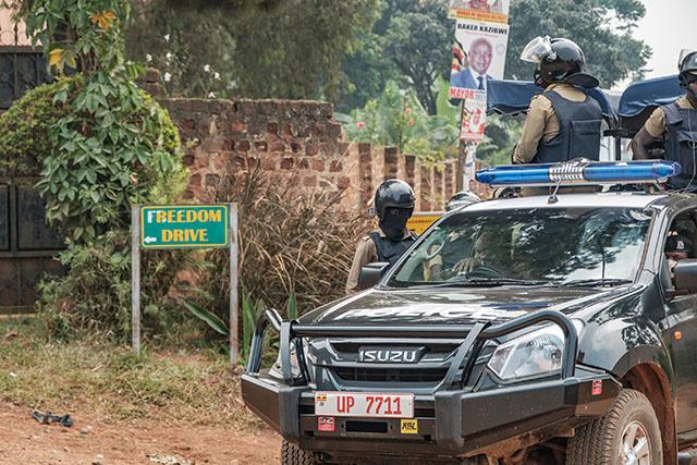 En Ouganda, l'opposition paralysée par l'assignation à résidence de son leader