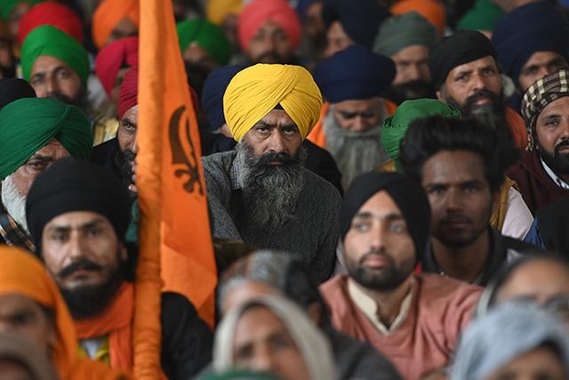 Inde: important dispositif de sécurité à Delhi au lendemain des heurts entre agriculteurs et policiers