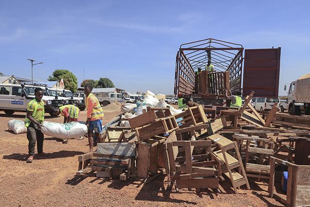 Centrafrique: plus de 200.000 personnes déplacées en moins de 2 mois
