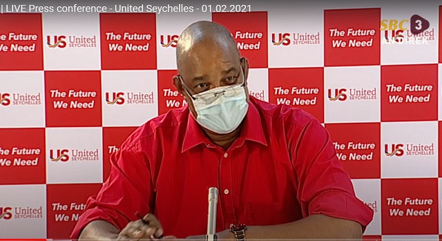 United Seychelles' newly elected leader criticises government's new direction