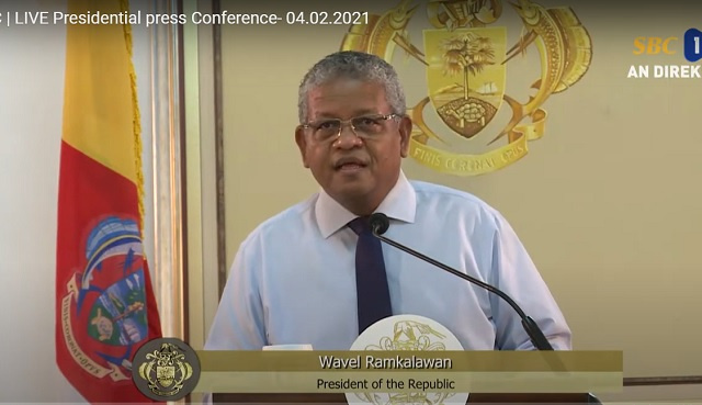 President of Seychelles again warns drug traffickers, invites doubters to invest in Air Seychelles