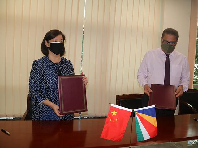 La Chine accorde une subvention de 40 millions de RMB aux Seychelles